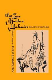 The Zen Master Hakuin: Selected Writings