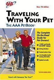 Traveling With Your Pet - The AAA PetBook: 7th Edition