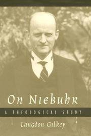 On Niebuhr  A Theological Study