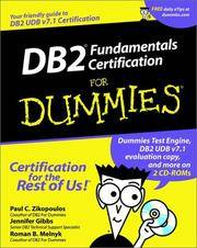 DB2 Fundamentals Certification for Dummies