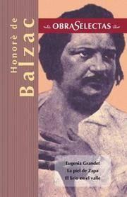 image of Honore de Balzac (Obras selectas series) (Spanish Edition)