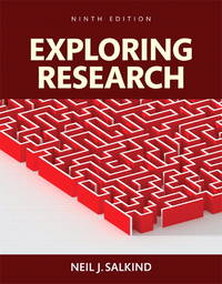 Exploring Research, Books a La Carte