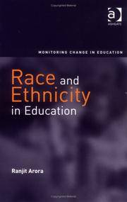 Race And Ethnicity In Education (Monitoring Change in Education) [Hardcover..