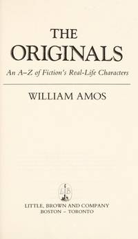 The Originals: an A-Z of Fiction's Real-Life Characters