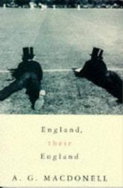 image of England, Their England (Picador Books)