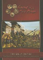 L5R RPG Emerald Empire L5R Companion (Legend of the Five Rings)