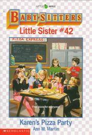 image of Karen's Pizza Party (Baby-Sitters Little Sister, 42)