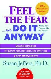 image of FEEL THE FEAR AND DO IT ANYWAY: 20th Anniversary Edition