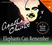 Elephants Can Remember (Mystery Masters) by Agatha Christie - 1999 - from The Yard Sale Store (SKU: LVLYFALLCDS358)