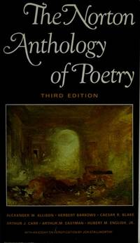 image of Norton Anthology of Poetry