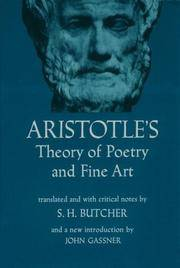 Aristotles Theory of Poetry and Fine Art