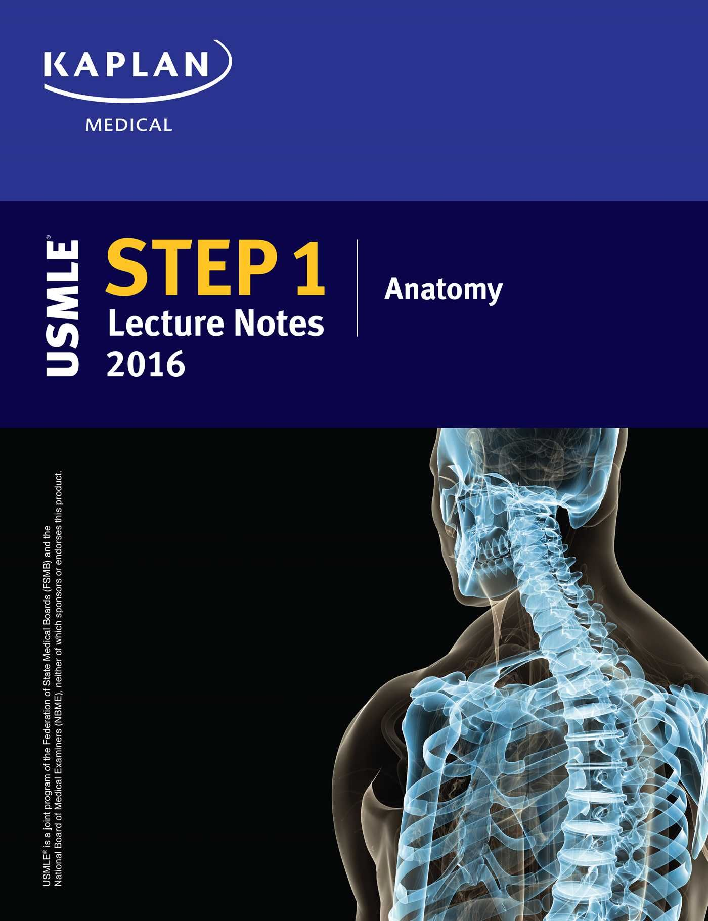 9781506200422 Usmle Step 1 Lecture Notes 2016 Anatomy Kaplan