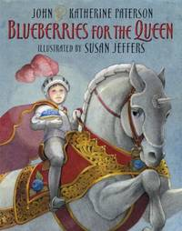 Blueberries for the Queen  **SIGNED 3X, 1st Ed/1st Printing**