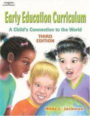 image of Early Education Curriculum: A Child?s Connection to the World