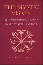 image of The Mystic Vision: Papers from the Eranos Yearbooks, Vol. 6 (Bollingen Series XXX)