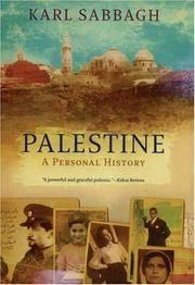 Palestine: A Personal History Sabbagh, Karl