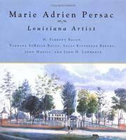 Marie Adrien Persac: Louisiana Artist