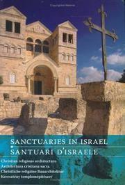 Sanctuaries in Israel: Christian Religious Architecture