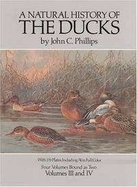 A Natural History of the Ducks, (Volumes I-IV in two volumes)