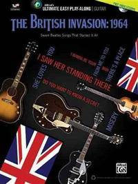 Ultimate Easy Guitar Play-Along -- The British Invasion 1964: Easy Guitar TAB (Book & DVD)...