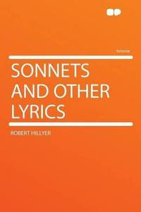 Sonnets and Other Lyrics