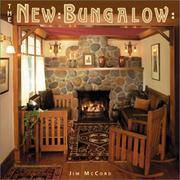 THE NEW BUNGALOW by Jim McCord and Matthew Bialecki - Hardcover - 9781586850425  - from JONAS ENTERPRISES and Biblio.com