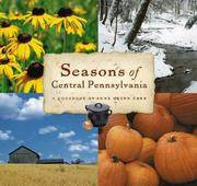 Seasons of Central Pennsylvania: A Cookbook (Keystone Book) (Keystone Books)