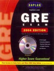 Kaplan Gre Exam 2004
