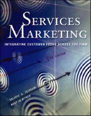 Services Marketing (3rd Edition) by  Mary Jo Bitner Valarie A. Zeithaml - Hardcover - from Discover Books (SKU: 3193547861)