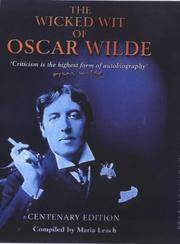 image of The Wicked Wit of Oscar Wilde Centenary Edition