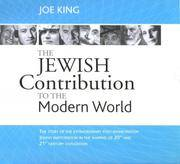 THE JEWISH Contribution to the Modern World