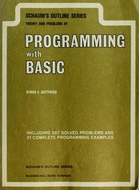 THEORIES AND PROBLEMS OF PROGRAMMING WITH BASIC