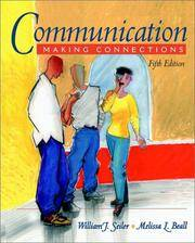 image of Communication: Making Connections (Book Alone)