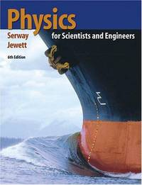 Physics for Scientists and Engineers (with PhysicsNOW and InfoTrac ) by  John W  Raymond A.; Jewett - Hardcover - 7/21/2003 - from Cheryl's Books (SKU: EVAJULY28130099609)