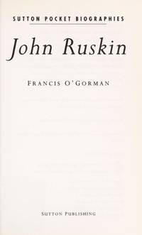 RUSKIN Sutton Pocket Biographies