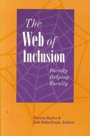 THE WEB OF INCLUSION: FACULTY HELPING FACULTY (National League for Nursing Series (All Nln Titles)