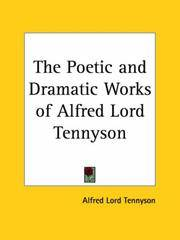 The Poetic and Dramatic Works Of Alfred Lord Tennyson