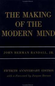 The Making Of the Modern Mind