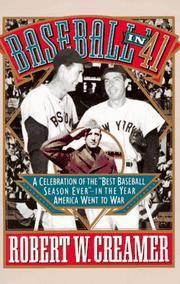 "image of Baseball in '41: A Celebration of the ""Best Baseball Season Ever"""