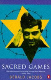 SACRED GAMES by Gerald Jacobs - Paperback - from Military History Books (SKU: 36971-01)