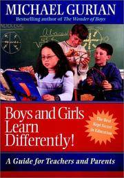 image of Boys and Girls Learn Differently!: A Guide for Teachers and Parents