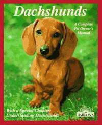 Dachshunds by  Leni Fiedelmeier - Paperback - 5/1/1994 - from BayShore Books LLC (SKU: 0812018435)