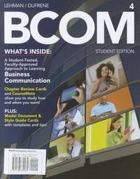 BCOM (Business Communication)(Chinese Edition)