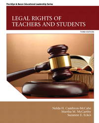 Legal Rights of Teachers and Students (3rd Edition) (The Allyn & Bacon Education