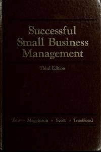 Successful small business management 3rd Ed.