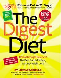 Digest Diet : The Best Foods for Fast, Lasting Weight Loss by  Liz Vaccariello - from Better World Books  (SKU: 2731073-75)