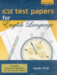 ICSE ENGLISH TEST PAPERS