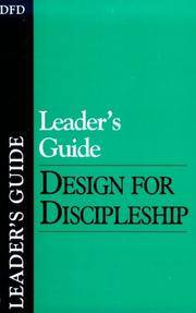 LEADER'S GUIDE Design for Discipleship