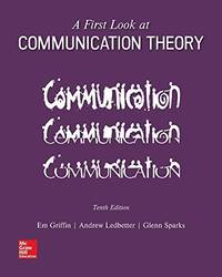image of Looseleaf for A First Look at Communication Theory