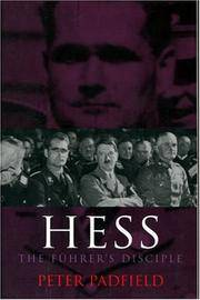image of Hess: The Fuhrer's Disciple